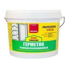 Герметик строительный NEOMID ТЕПЛЫЙ ДОМ Wood Professional PLUS - 3кг, сосна
