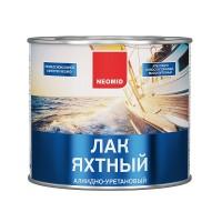 Лак яхтный алкидно-уретановый NEOMID YACHT, 2,5л