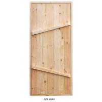 Дверь банная хвойная 1750х750х70 (размер с коробкой)