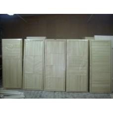 Дверь банная из осины Без сучков 1700х700х80 (размер с коробкой)