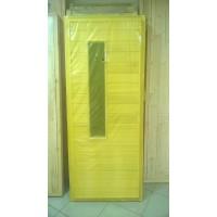 Дверь банная из осины со стеклом 1800х700 (размер с коробкой)