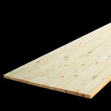 Мебельный щит массив сосны 18*400*2500