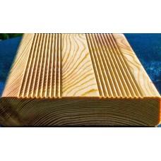 Террасная доска 27*145*4000 из Лиственницы сорт В
