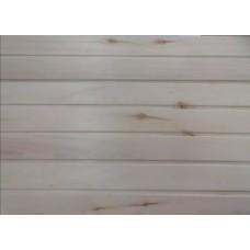 Вагонка из Осины 16*(88)98*3000 - с суками (уп - 10 досок)